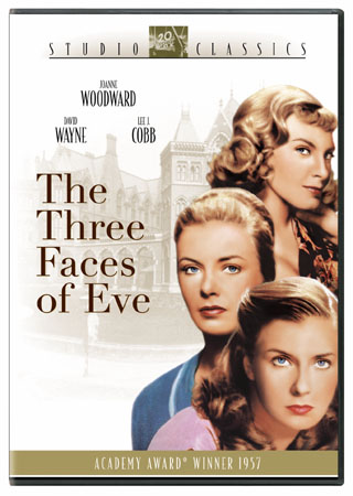 THREE FACES OF EVE BY WOODWARD,JOANNE (DVD)